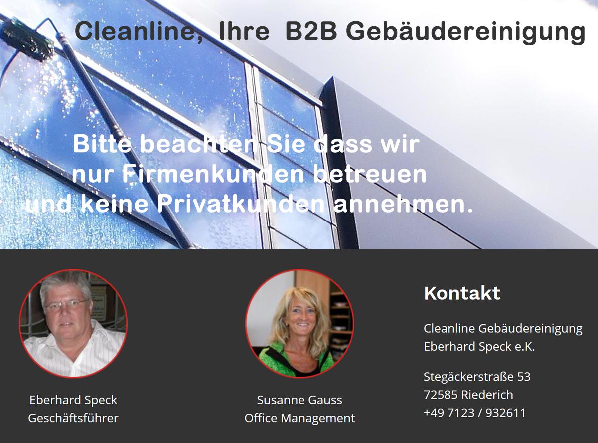 Gebäudereinigung für Göppingen - CLEANLINE: Fensterreinigung, Büroreinigung, Parkettbodensanierung, Grundreinigung, Industrie und Maschinenreinigung
